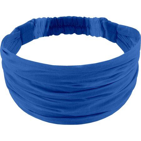 Headscarf headband- child size navy blue