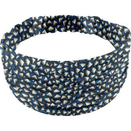 Headscarf headband- child size parts blue night