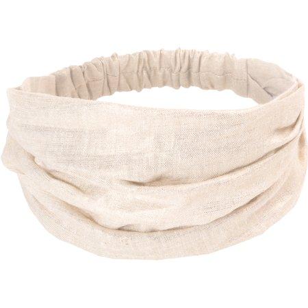 Headscarf headband- child size  glitter linen