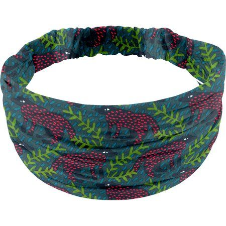 Headscarf headband- child size wolf of the woods