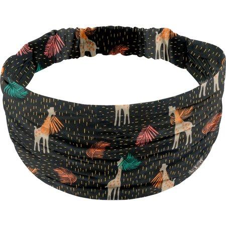 Headscarf headband- child size palma girafe