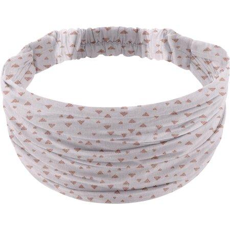 Headscarf headband- child size triangle cuivré gris