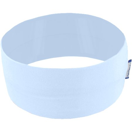 Stretch jersey headband  bleu ciel