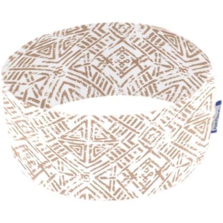 Stretch jersey headband  ethnique sable
