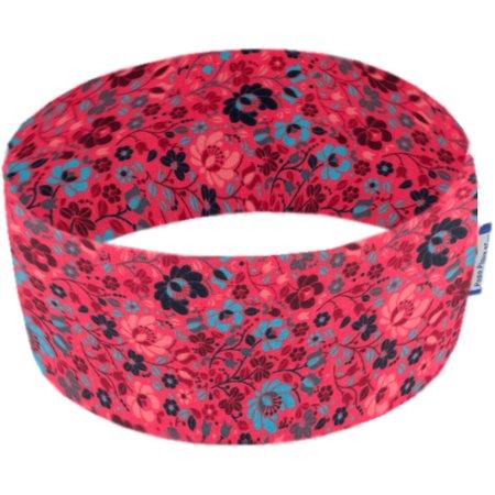 Turbantes elasticos fleuri corail