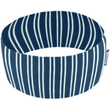 Turbantes elasticos rayé marin