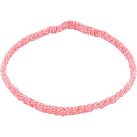 Plait hairband-adult size vichy peps