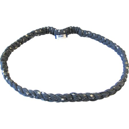 Plait hairband-children size silver star jeans