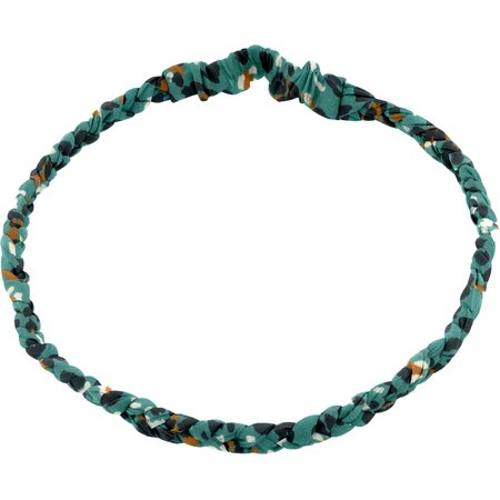 Plait hairband-children size jade panther