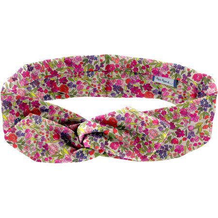 Wire headband retro purple meadow
