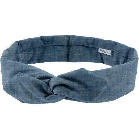 Wire headband retro light denim