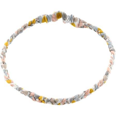 Plait hairband-adult size pastel drops