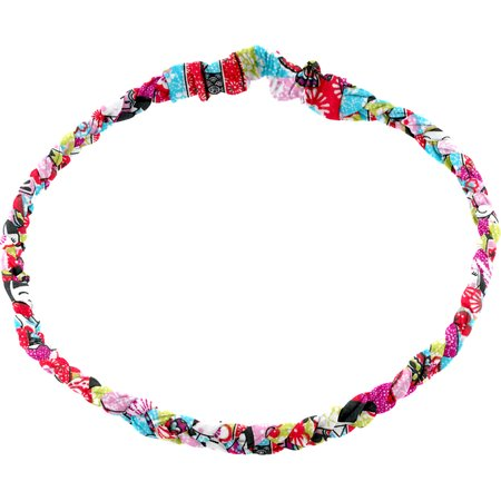 Plait hairband-adult size kokeshis
