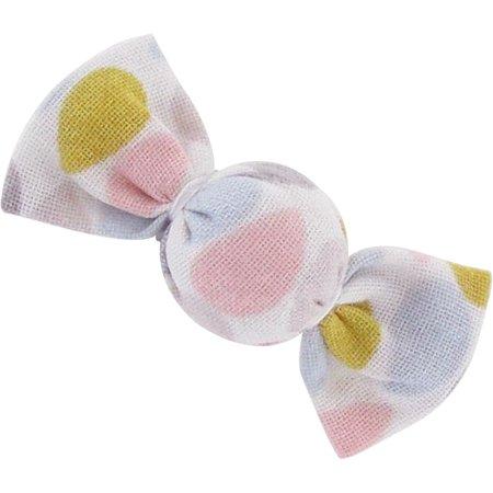 Petite barrette mini bonbon gouttes pastel