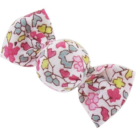 Petite barrette mini bonbon jasmin rose