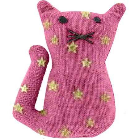 Small cat hair slide etoile or fuchsia