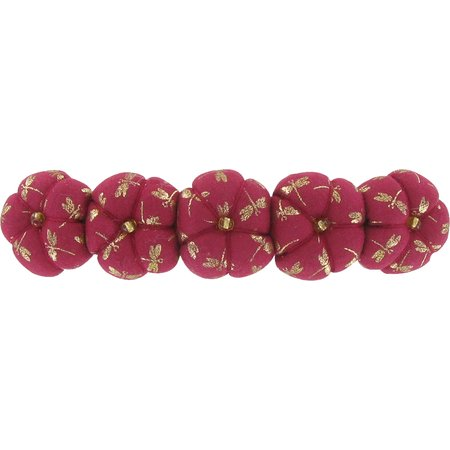 Japan flower hair slide-large size ruby dragonfly