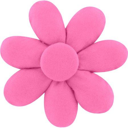 Barrette fleur marguerite rose