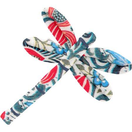 Barrette libellule azulejos