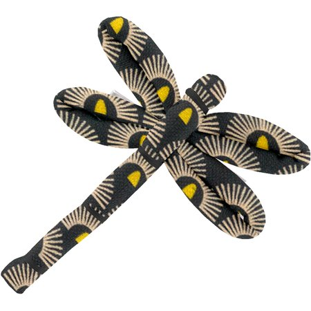 Dragonfly hair slide inca sun