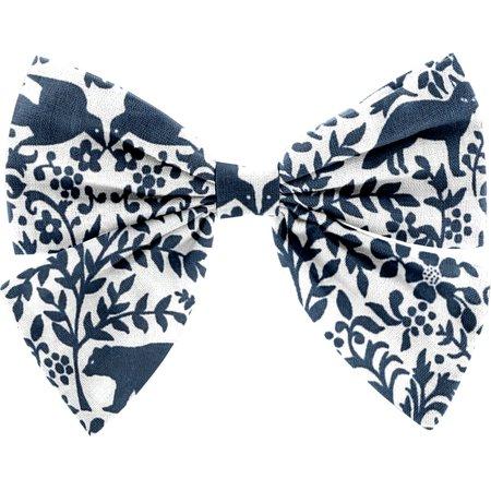 Barrette noeud papillon scandinave marine