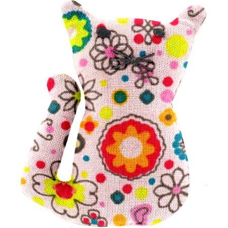 Petite barrette chat prairie pétillante