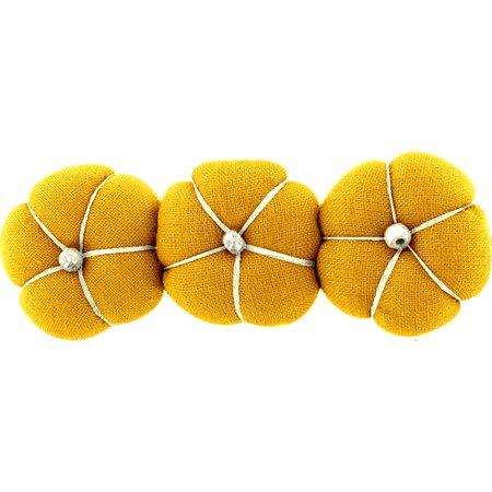 Pumpkin hair slide yellow ochre
