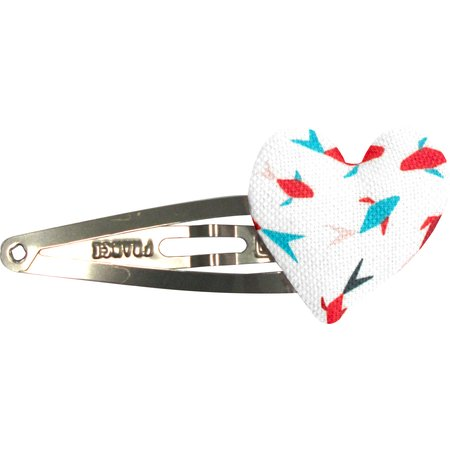 Heart hair-clips swimswim