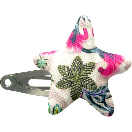 Star hair-clips spring