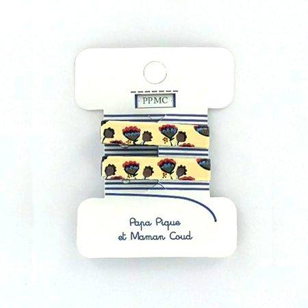Petite barrette croco cr025