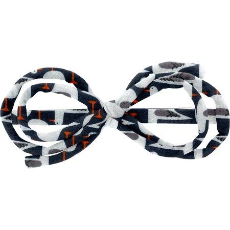 Barrette noeud arabesque mouettes rieuses