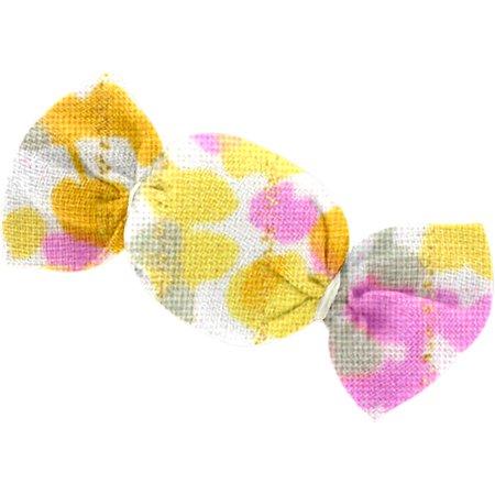 Mini sweet hairslide mimosa jaune rose