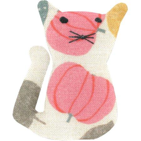 Petite barrette chat douceur d'été