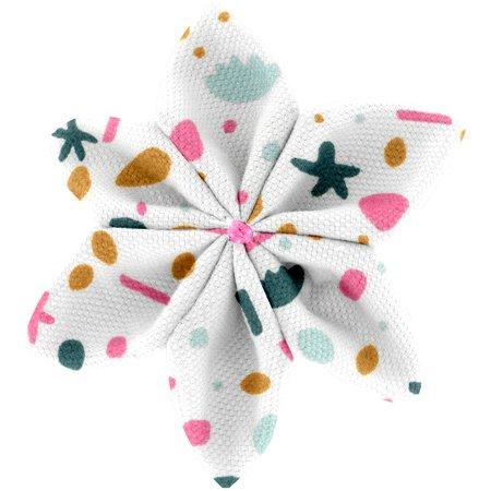 Barrette fleur étoile 4 bord de mer