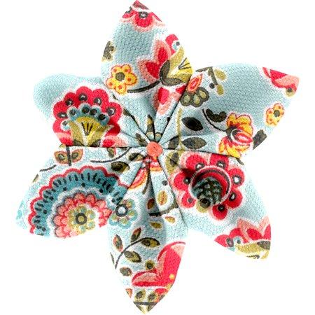 Barrette fleur étoile 4  corolle