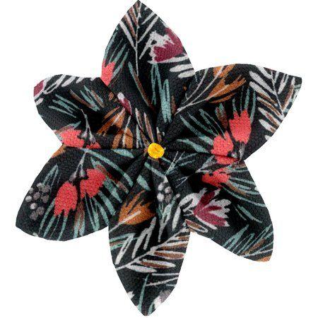 Barrette fleur étoile 4  graminée