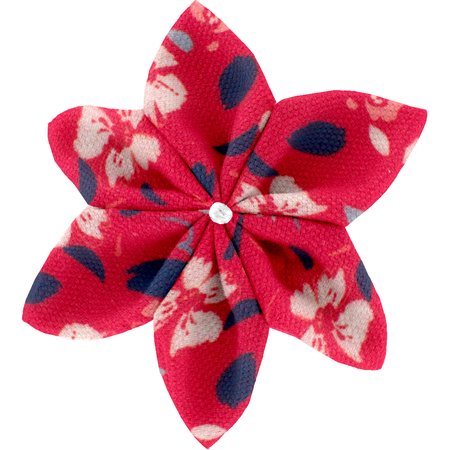 Barrette fleur étoile 4 hanami