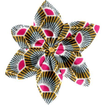 Pasador flor estrella palmeta