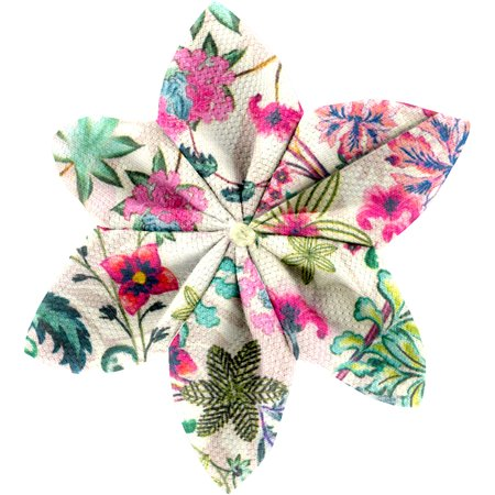 Star flower 4 hairslide spring