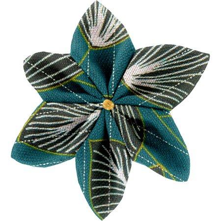 Star flower 4 hairslide   végétalis
