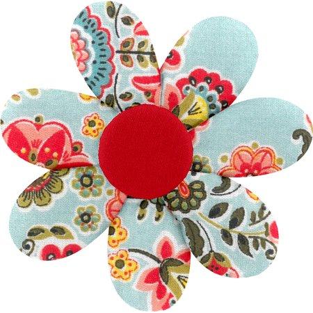 Barrette fleur marguerite  corolle