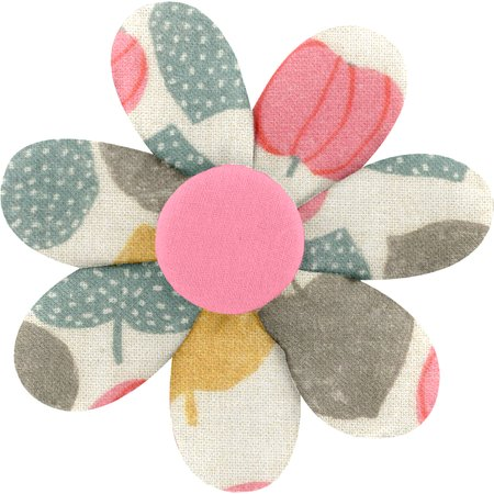 Fabrics flower hair clip summer sweetness