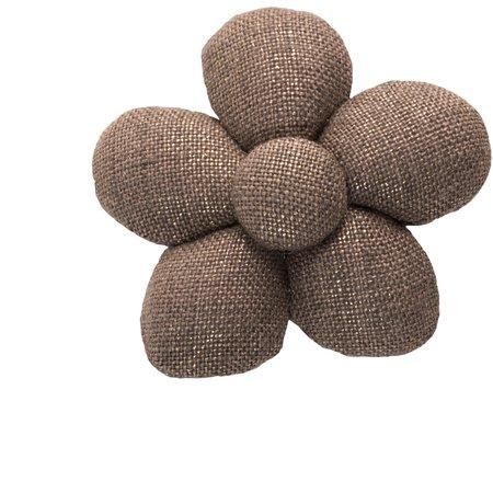Pasador mini flor lino de cobre