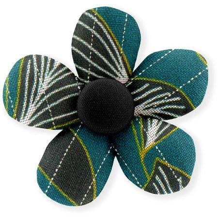 Petite barrette mini-fleur  végétalis