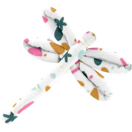 Dragonfly hair slide sea side