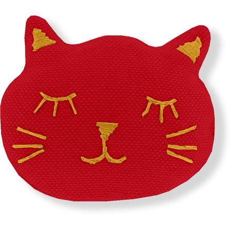 Meow hair slide red