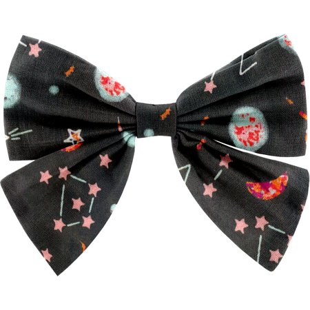 Bow tie hair slide constellations