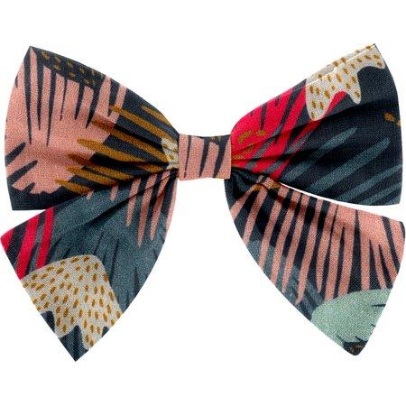 Barrette noeud papillon feu d'artifice