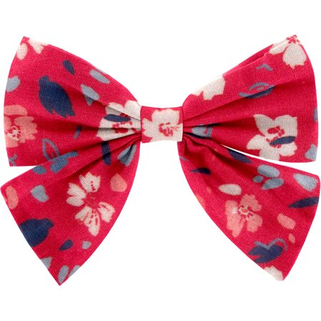 Bow tie hair slide hanami