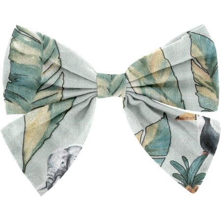 Barrette noeud papillon paradizoo mint